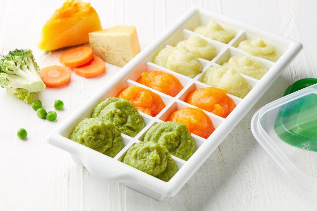 冷凍野菜ペーストストック
