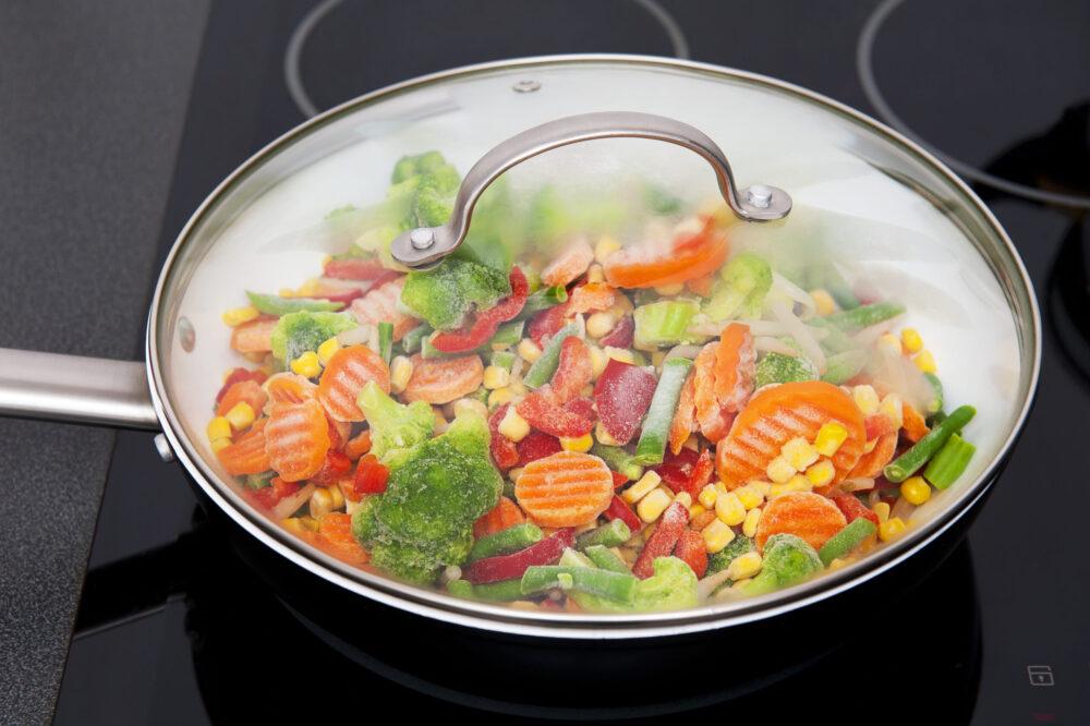 冷凍野菜のレシピ